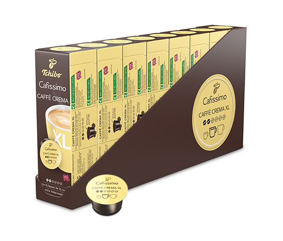 Caffè Crema XL – 80 kapslar