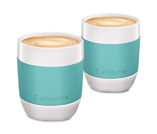 Kubki do kawy przelewowej seria mini miętowe, 2 szt