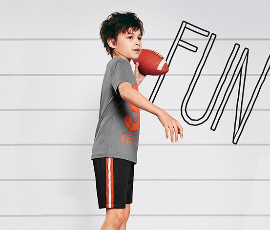 Fiú sport-rövidnadrág