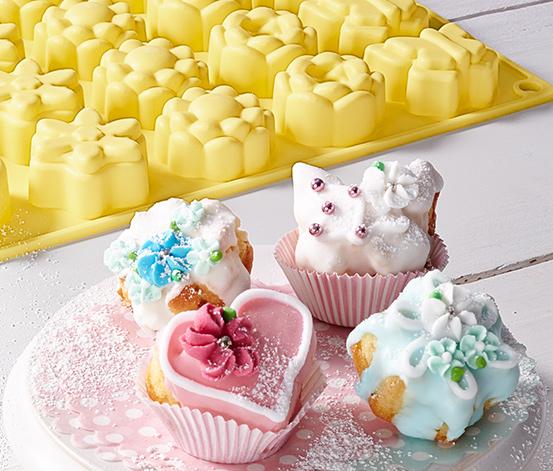 20 mini sütőforma szettben