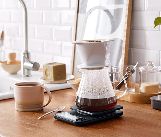 Kaffeekanne Glas