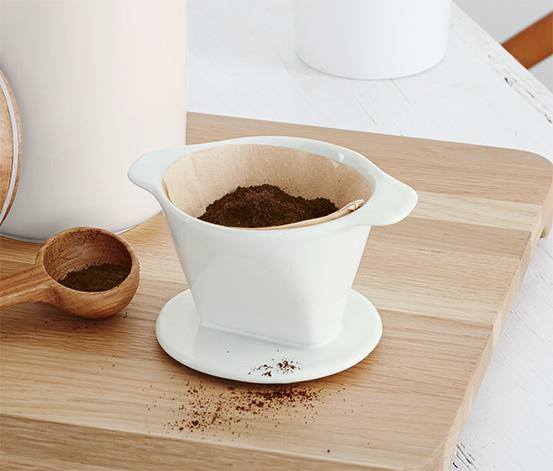 Ceramiczny filtr do kawy, do papierowych filtrów 101