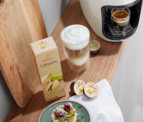 ÚJ: Flavoured Edition Espresso Pistachio – 80 kapszula