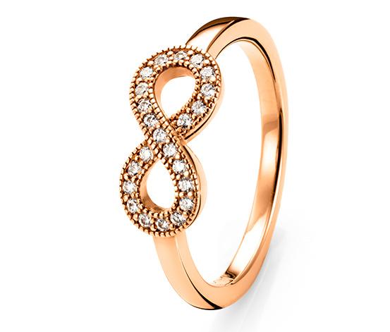 Strieborný prsteň so zirkónmi*