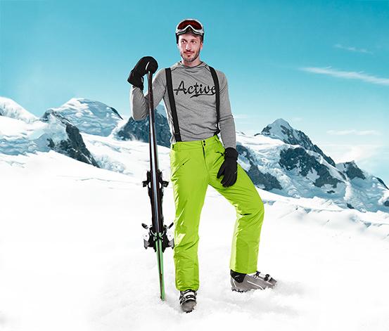 Pantalon de ski pour hommes, vert