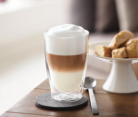 Pohár na latte macchiato, 2 ks