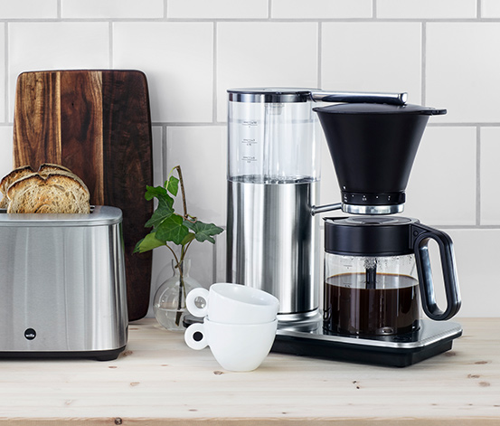 Wilfa CLASSIC CCM-1500S Filterkaffeemaschine (inkl. Gratis-Kaffee & Filtertüten)