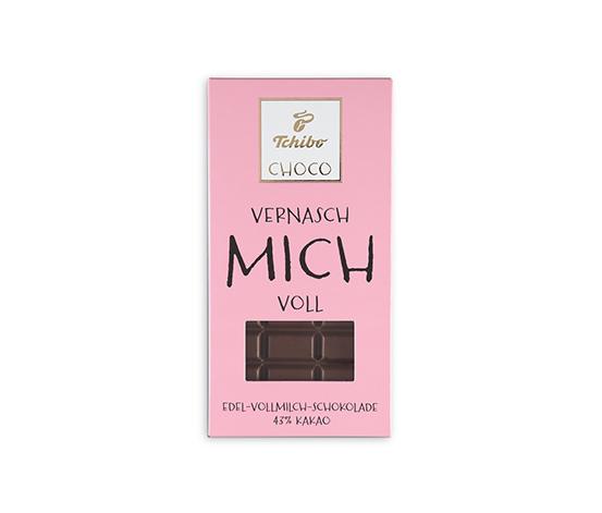 Edel-Vollmilch-Schokolade (43% Kakao)
