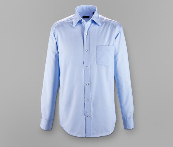 Vasalást nem igénylő férfi ing, világoskék