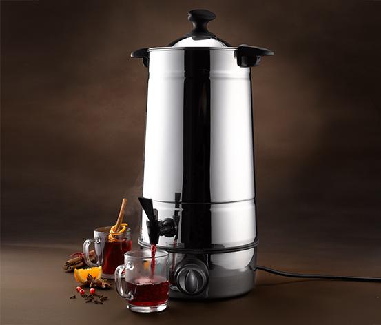 Elektryczne urządzenie do przyrządzania grzanego wina i ponczu