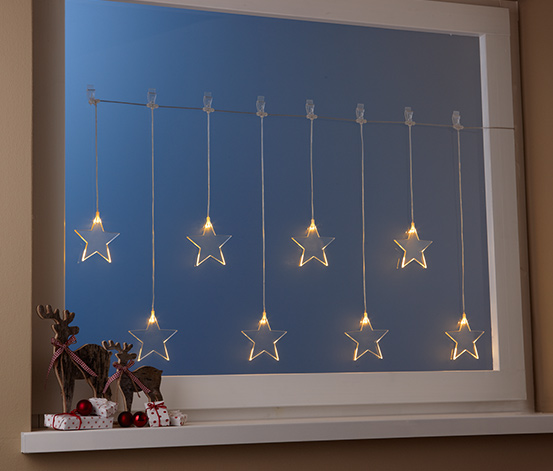 Světelný závěs s LED