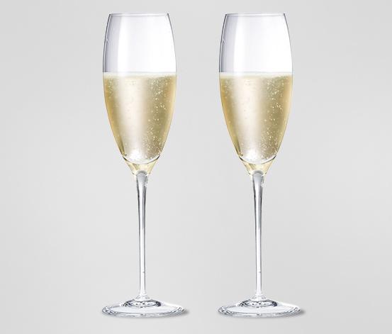 Poháre na šampanské, 2 ks