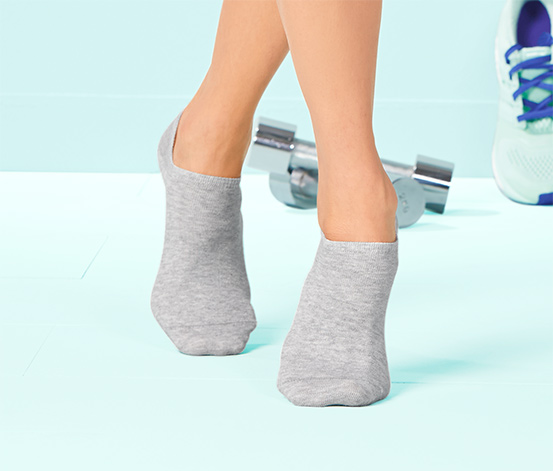 3 Çift Organik Pamuklu Spor Ayakkabı Çorabı