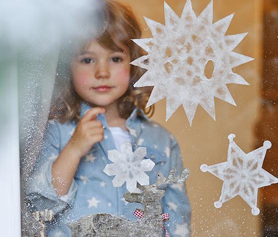 Sada obrázků do oken Hvězdy