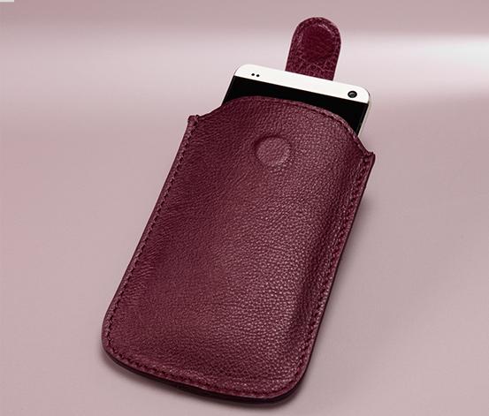 Kožené pouzdro na smartphone