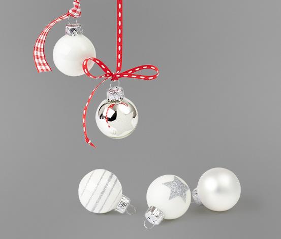 Vánoční miniozdoby, 12 ks