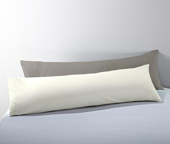 2 párnahuzat szettben, oldalt alvóknak, szürke
