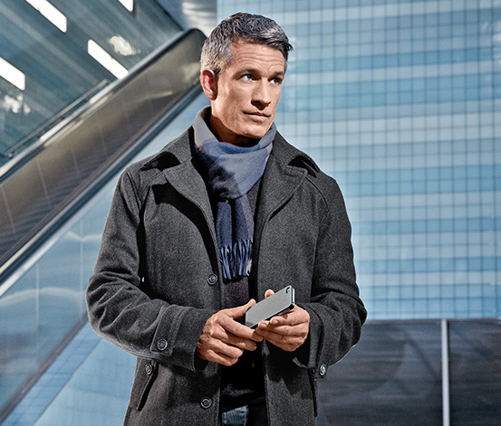 Nakładka ochronna na  iPhone 4/iPhone 4S, antracytowa