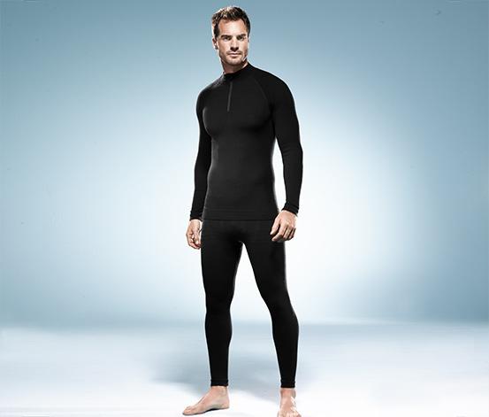 Pánské sportovní spodní prádlo se střižní vlnou merino