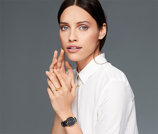 Zegarek na skórzanym pasku »Classic«