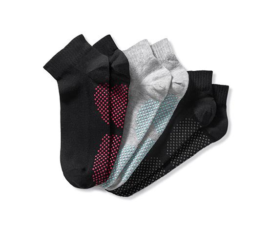 Ponožky na jogu, 3 páry