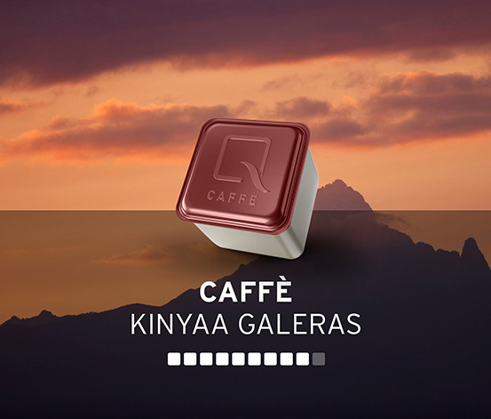 Qbo CAFFÈ  KINYAA GALERAS – 8 Kapseln