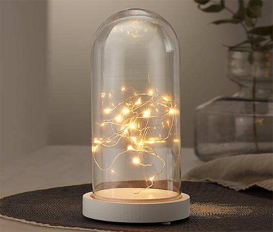 LED-es díszbura időzítő funkcióval