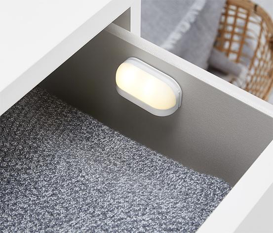 2 LED-Schubladenleuchten