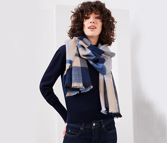 Oversize-Schal