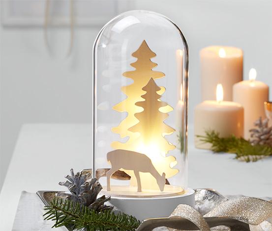 Cloche décorative à LED