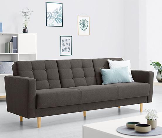 Canapé-lit à ressorts