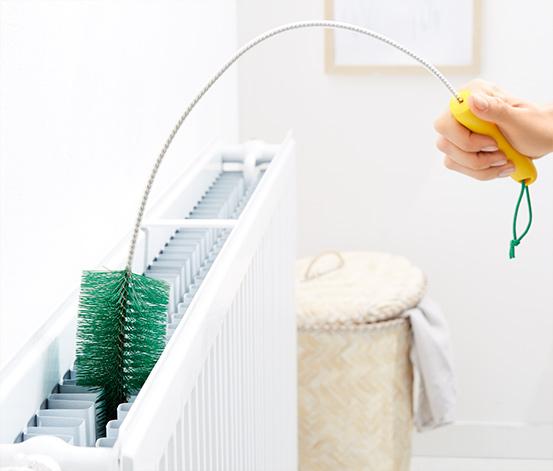 Brosse pour radiateurs