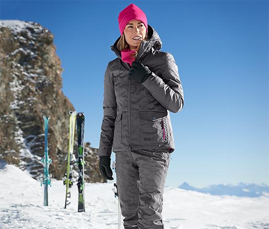 Kayak ve Snowboard Montu, Kırçıllı Gri, Street Style