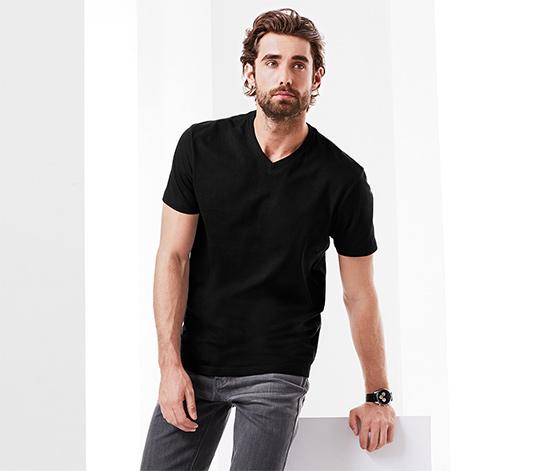 2 T-Shirts mit V-Ausschnitt
