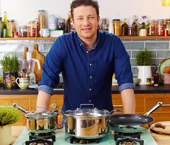 TEFAL®-Kochtopf mit Deckel, 6,6 l – Jamie Oliver Professional Series