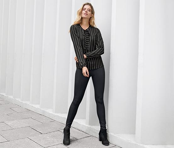 Spodnie damskie z dżerseju