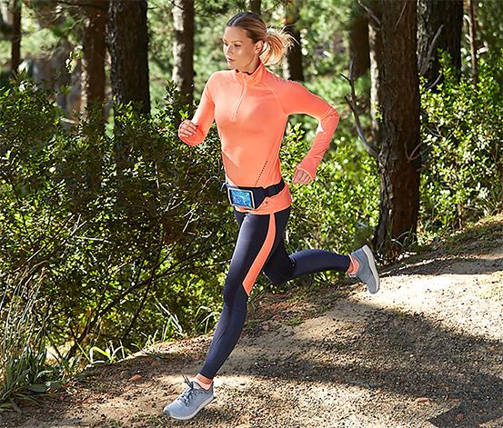 Női sportnadrág, melírozott hatású