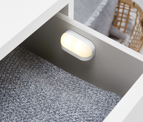 Svietidlá do zásuvky s LED, 2 ks