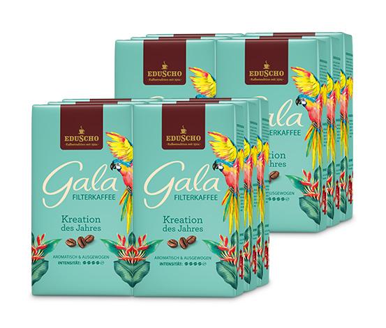 """Gala """"Kreation des Jahres"""" Filterkaffee – 12 x 500g Gemahlen"""