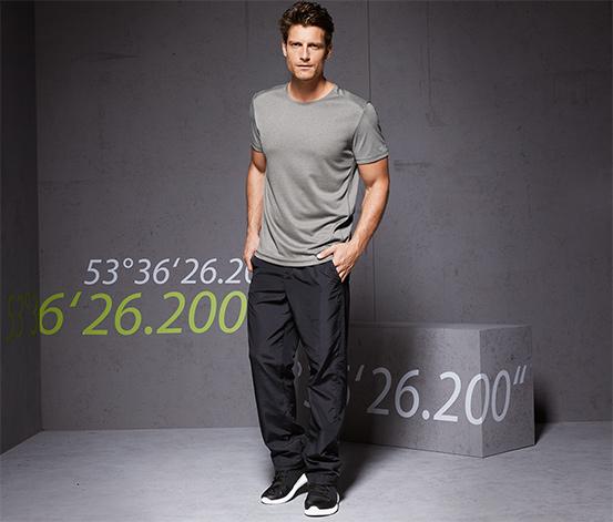 DryActive Plus Fonksiyonel Tişört, Kırçıllı Gri