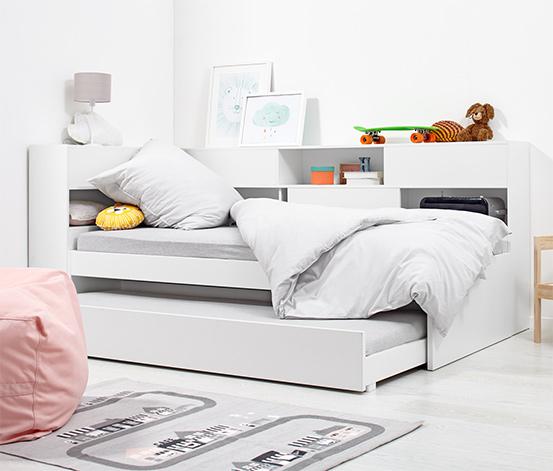 Łóżko dziecięce z miejscem do przechowywania