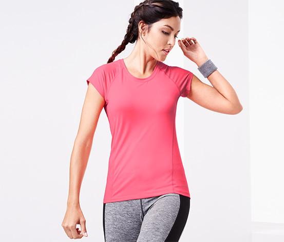 DryActive Plus Spor Tişört, Pembe