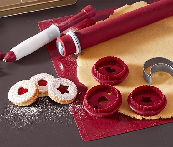 Foremki do wycinania ciasteczek linckich, 3 sztuki