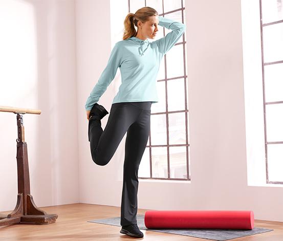 Damskie spodnie sportowe modelujące figurę
