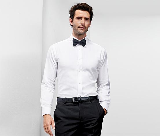 Košeľa s golierom typu kent