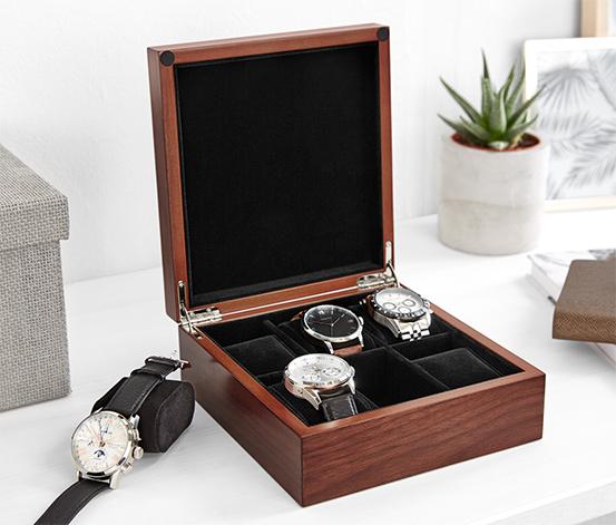 Holz-Uhrenkasten