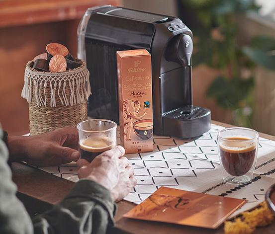 80 kapsułek kawy Grand Classé Caffè Crema »Musasa Ruanda«