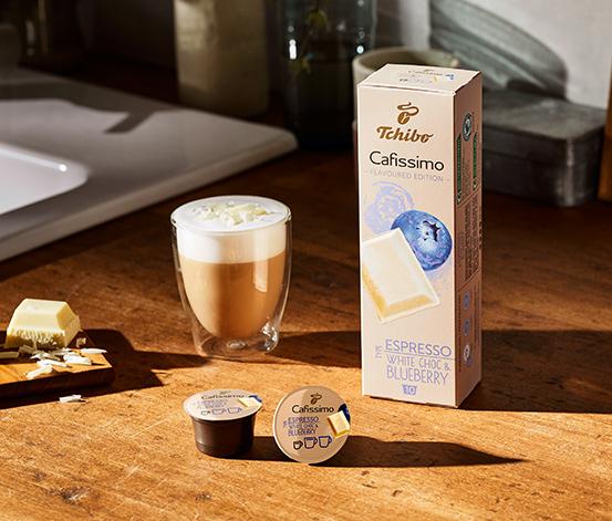 10 kapsułek kawy Espresso White Choc & Blueberry