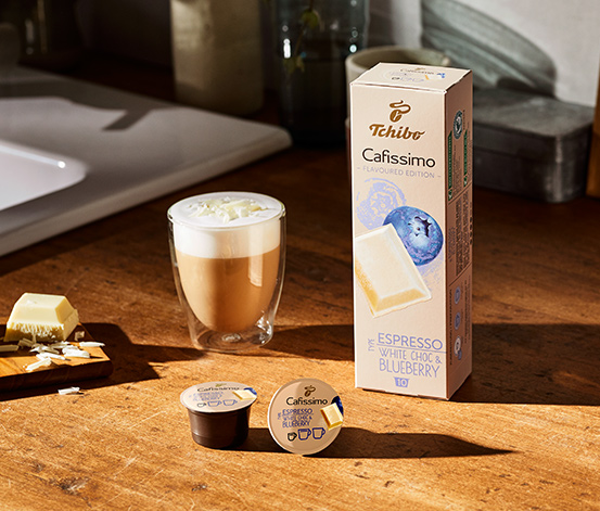 Flavoured Edition – Espresso White Choc & Blueberry – 80 Kapseln