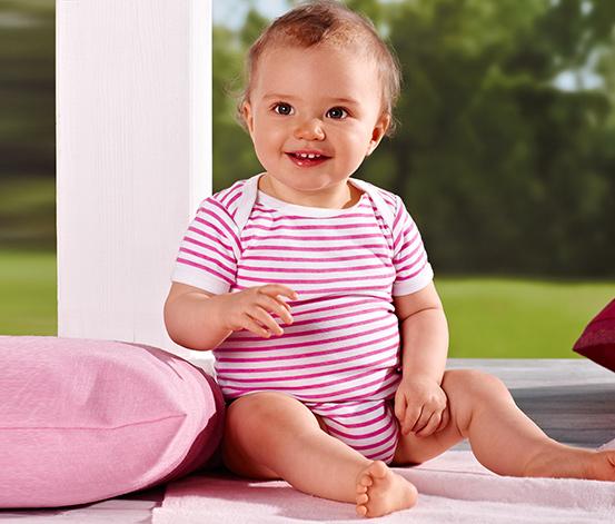 4 Adet Kısa Kollu Bebek Tulumu